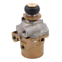 WM90 - Three-Way Pneumatic Regulating Valve